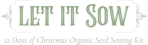 let is sow organic seed sowing kit - 12 day advent calendar